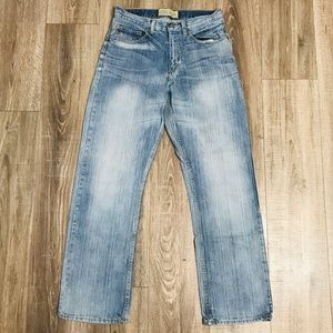 {{Wrangler}} men sz W31 L32 relaxed straight